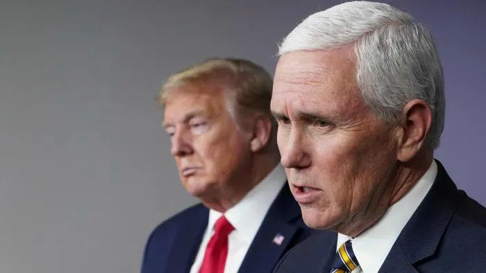 'Political games' I won't invoke 25th Amendment to remove Trump, Pence says