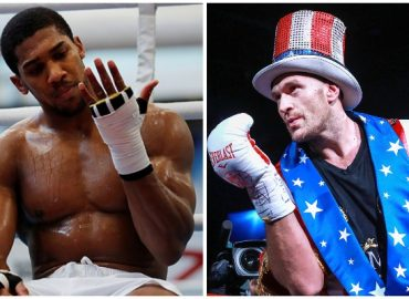 'Can't wait' Tyson Fury boasts of beating Anthony Joshua in three rounds