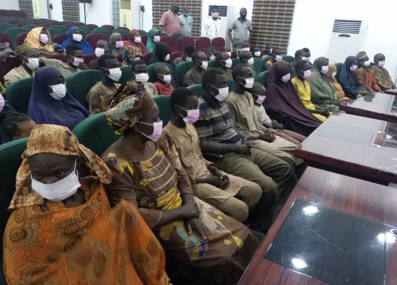 'Handed over' Niger Gov, Abubakar Bello receives 53 kidnapped passengers