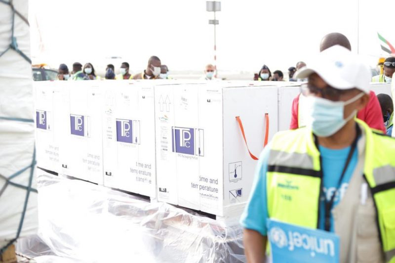 'Ready for use' Ghana receives first batch of COVID19 vaccines (Photos)