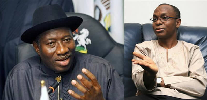 '2023 Election' APC plans to pair Jonathan with El-Rufai