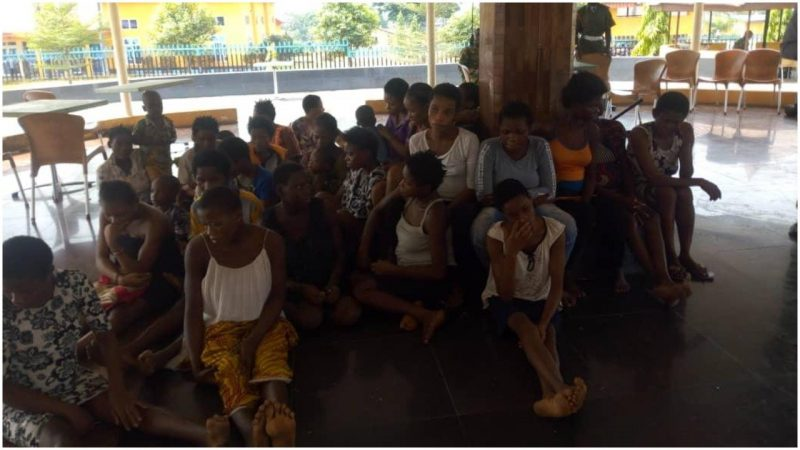 'Operation Akpakwu' Pregnant girls, children rescued from Calabar baby factory, NAPTIP says