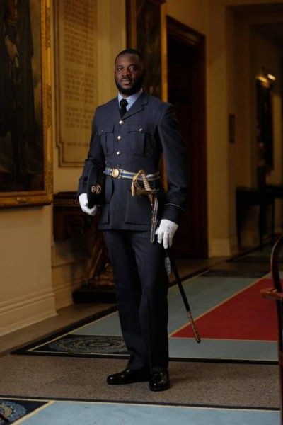 'Making us proud' United Kingdom commissions Nigerian into its Royal Air Force