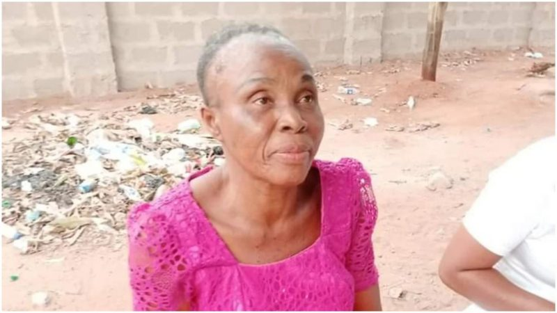 'Voodoo for politicians' Women arrested for pounding children for charms (Graphic photos)