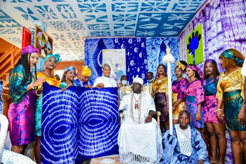 'Empowering the youth' Ooni unveils Adire textile production center