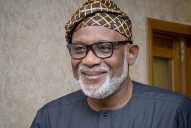 'Thank you for your service' Gov Akeredolu dissolves cabinet ahead of inaugration