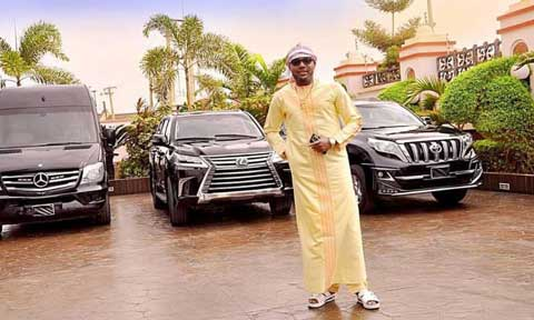 'Celebrating in style' E-Money gives out luxury cars to people on his 40th birthday