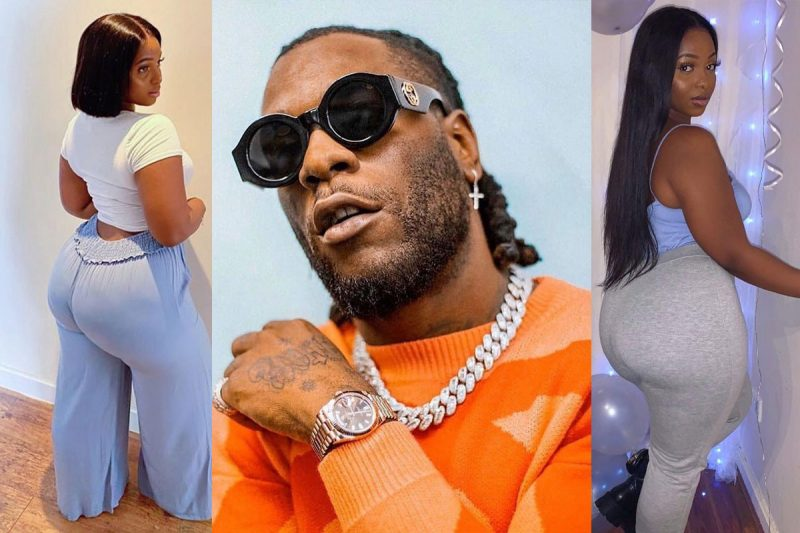 'He belongs to the streets' Burna Boy's ex-lover replies trolls who said she couldn't keep him