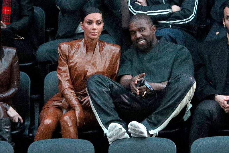 'Back together?' Kanye West, Kim Kardashian caught going for Lunch, kids absent (Photo)