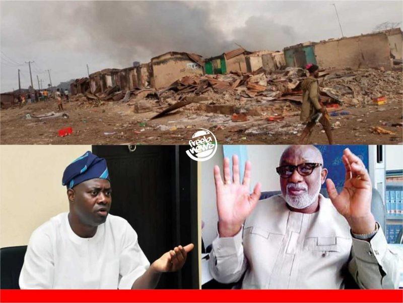 'Oga, go siddon!' Makinde receives knocks over troubled Sasa community's visitation