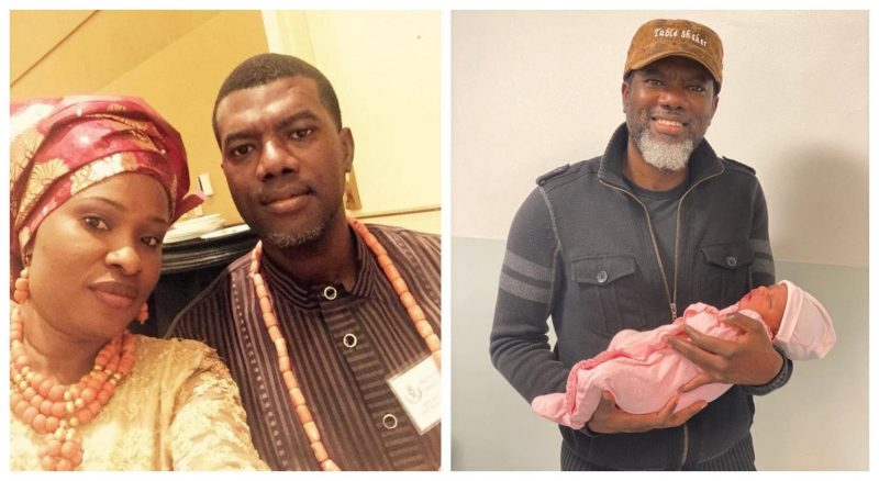 'Bundle of joy' Reno Omokri welcomes 4th child with wife, names baby after former president