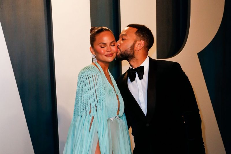 'Interesting…' John Legend's wife reveals the strangest places she had s3x with her husband (Video)