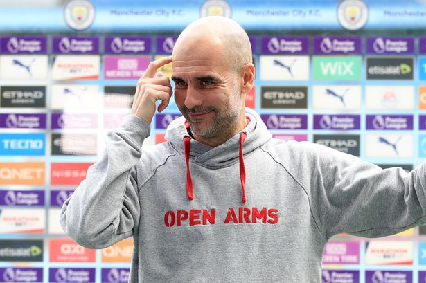 'The crown belongs to them' Guardiola predicts Liverpool as Premier league winners