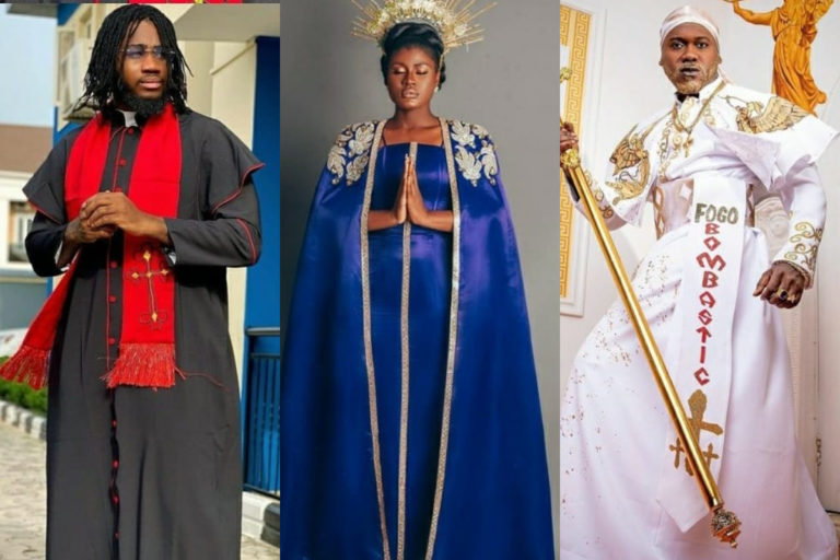 'Celestial beings' All the head-turning looks from the Prophetess movie premiere