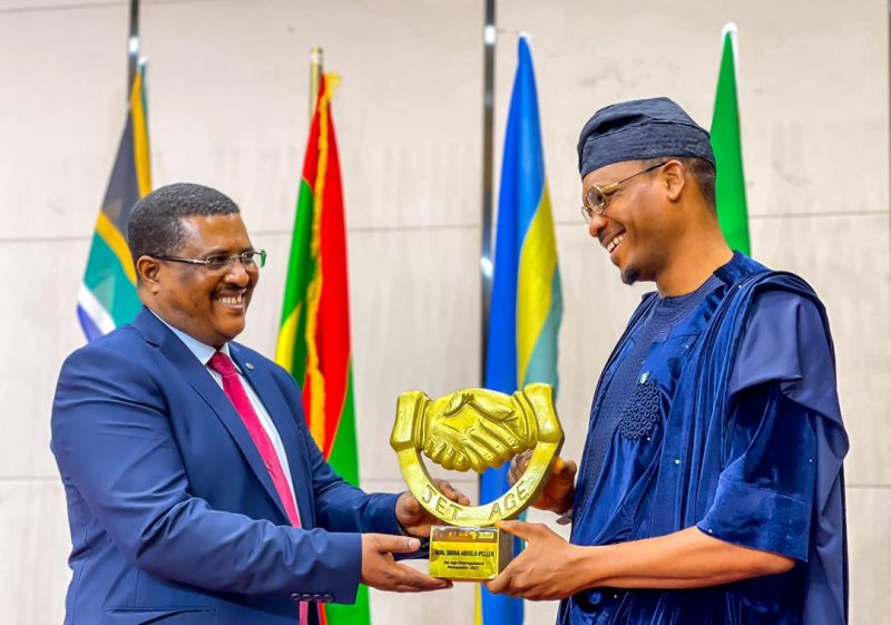 'Congrats' Shina Peller awarded Distinguished Personality Award in Ethiopia