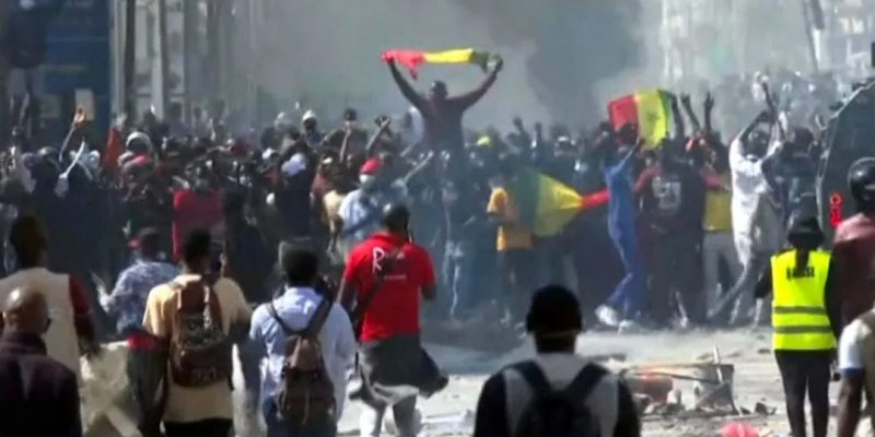 'By all means necessary' Two days of protest in Senegal after opposition leader was arrested