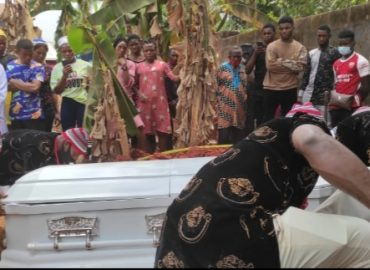 'Goodnight AdaIgbo!' Popular Nigerian blogger, Doris Kamuche, buried amidst tears