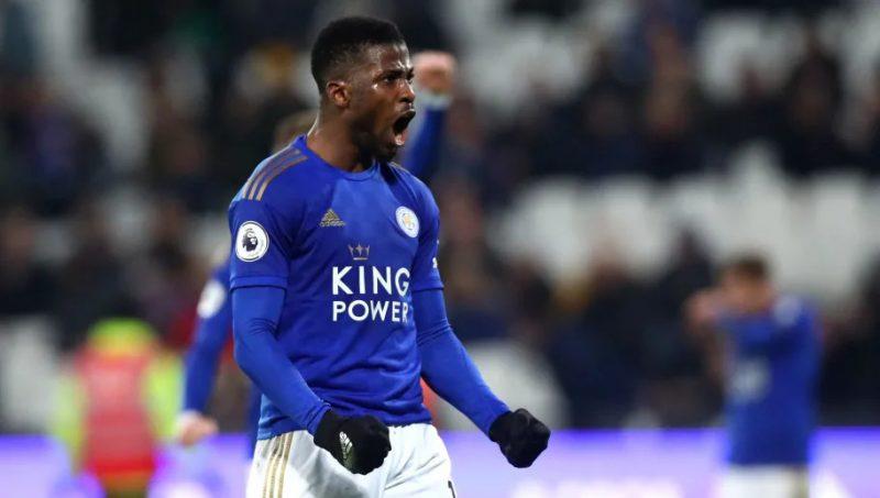 'Powerful curler' Super Eagles forward, Kelechi Iheanacho bags Leicester City's goal of the season award