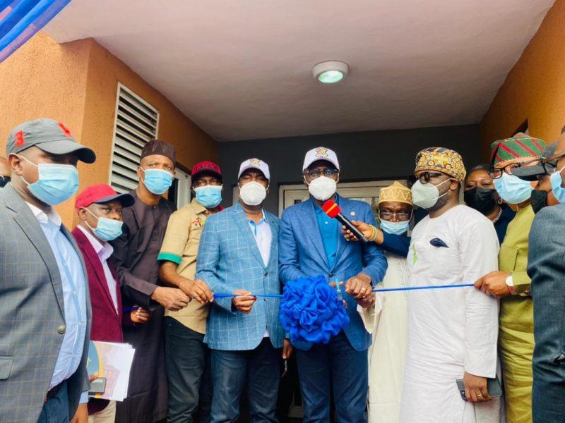 '#ForAGreaterLagos' Sanwo-Olu commissions Igbogbo LagosHoms, names it after former deputy governor