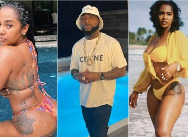 'Assurance in doubt' Davido seen kissing another lover, fans react (Photo)