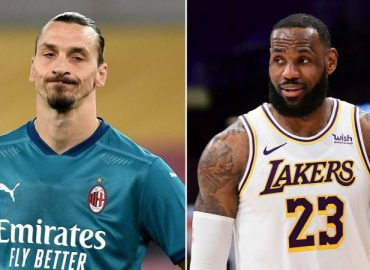 'Coming to rescue' NBA stars attack Ibrahimovic for criticizing LeBron James over his political activism