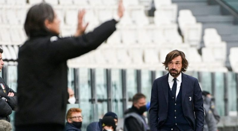 'Everything is at stake' Pirlo given one game to save job as Juventus manager