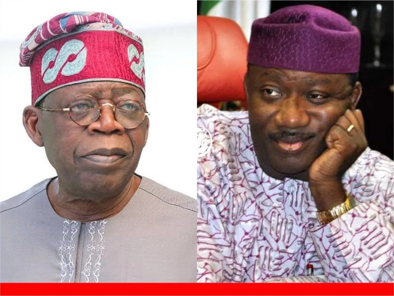 'I didn't say that!' Fayemi denies speaking against Tinubu, others' presidential ambitions