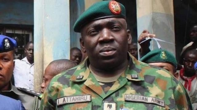 'Finally!' Army chief appears before Reps over arms funds probe