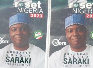 'Fueling speculations' Saraki's 2023 presidential posters sighted at Abuja