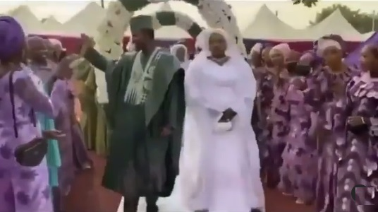 'I'm warning you MC' Groom turns down request to dance on his wedding day (Video)