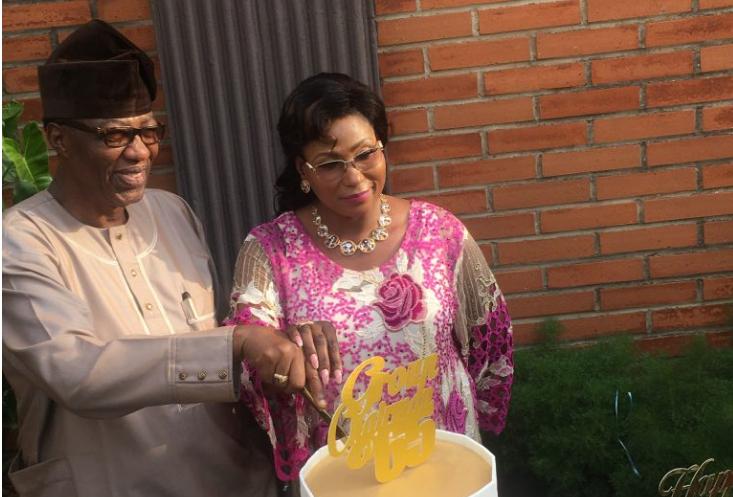 'Spirit of celebration' Fmr Ogun State gov, Otunba Daniel, marks 65th birthday (Photos)