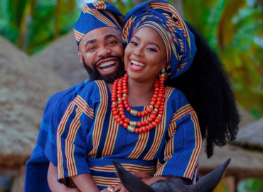 'Congrats!' Comedian, Woli Arole, ties knot with lover in Lagos (Photos)