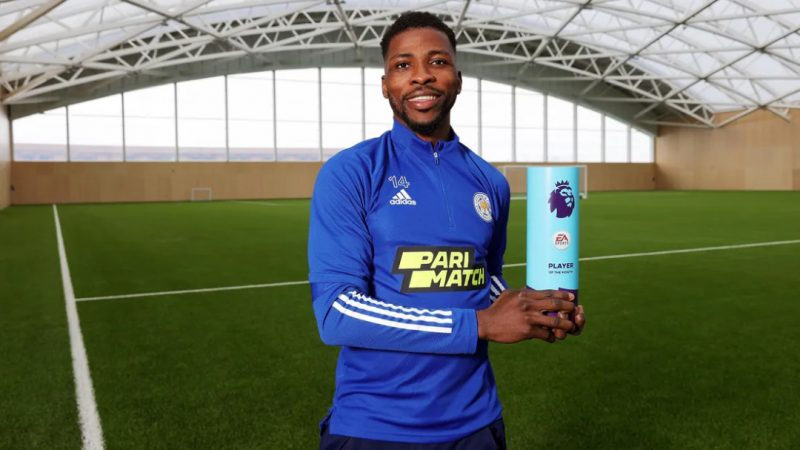 'Taking the crown' Iheanacho wins Premier League player of the month