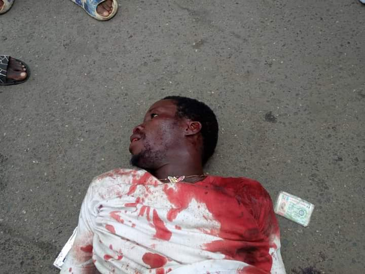 'Breaking News' Two dead as APC primary election heats up in Surulere (Photos, Viewers Discretion)