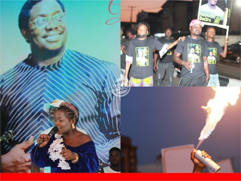 'RIP' Exclusive photos as family organises service of songs for late Kayode Badru