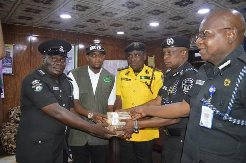 'Worthy of emulation' Police officers awarded N1m for rejecting bribe from fake drug dealers