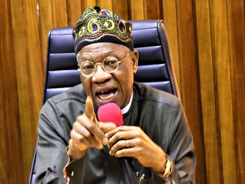 'Risk!' You're hurting yourselves, Lai Mohammed tells Nigerians using VPN to access Twitter