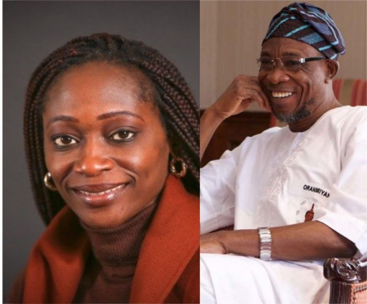 'Grateful' Daugther of late MKO Abiola, Hafsat Abiola, claims her family is indebted to Aregbesola on how he honored her father