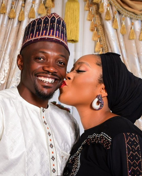 'Cheers to many more years' Nigerian football star, Ahmed Musa celebrates wife over 4th wedding anniversary