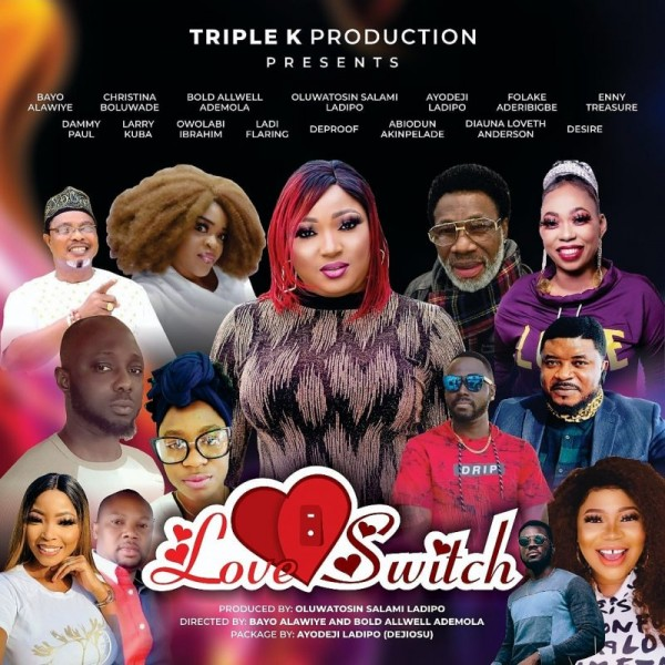 'Love switch' Nollywood actress, Oluwatosin Salami, to premiere first movie in United States
