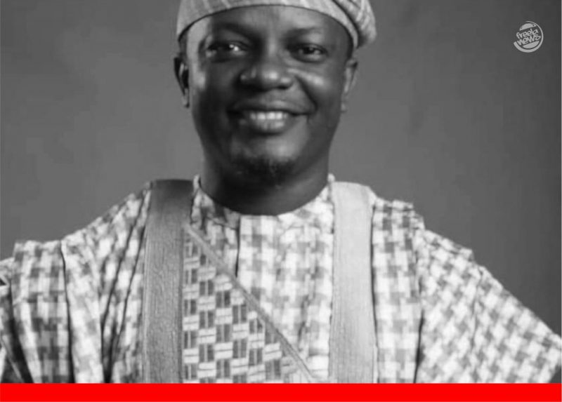 'Gone too soon!' Burial plans for late ace broadcaster, Baale Dapo Oshin, released (Poster)