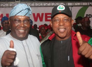 'Beer parlour talk' Atiku debunks claims of involving in plan to remove Secondus from office