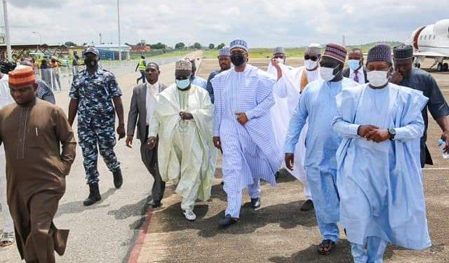 'List of dignitaries' Obasanjo, Saraki, others storm Minna