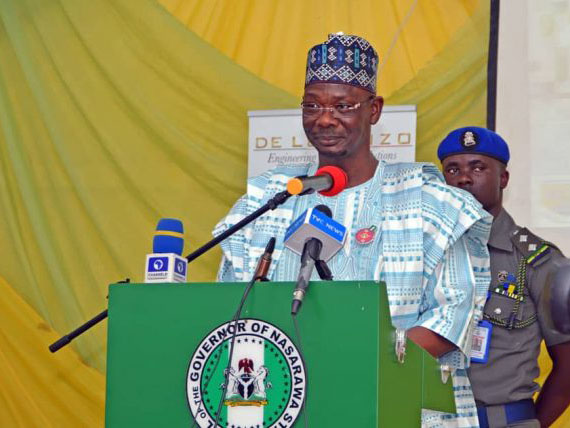 'Sacked!' Nasarawa governor, Abdullahi Sule, dismisses commissioners, political aides