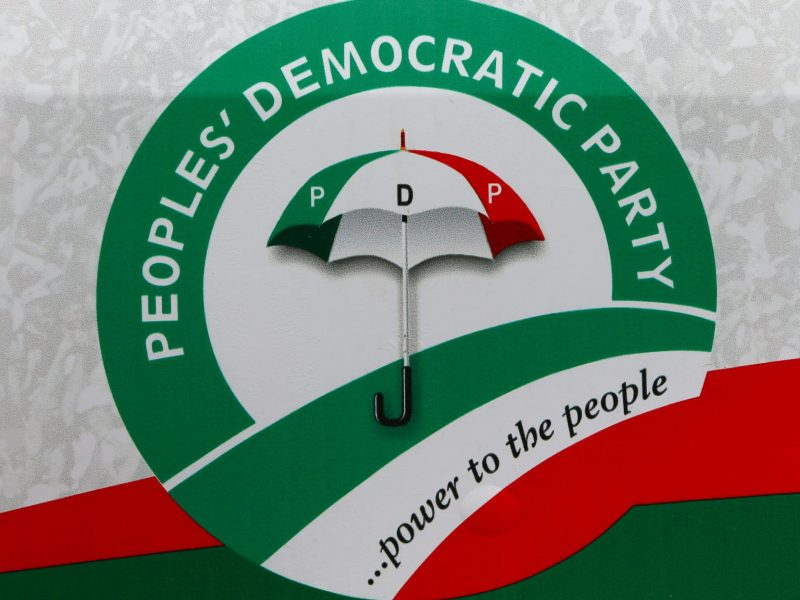 'Resolute!' PDP to hold National Convention in October 29-30