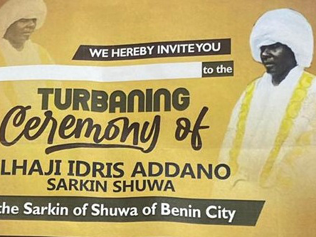 'No way!' Plans to crown controversial 'Sultan of Shuwa Arabs in Edo' trashed