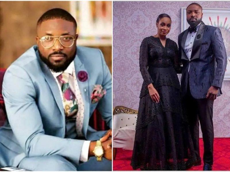 'I slacked a lot' Elikem Kumordzie apologizes to Ex wife Pokello Naya