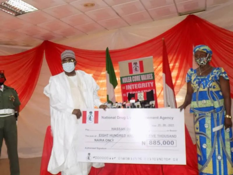 'Death benefits' NDLEA gives N163.4m to 188 deceased officers family