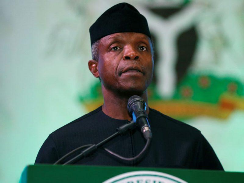 'We will be losers' VP Osinbajo cautions against Nigeria's break up