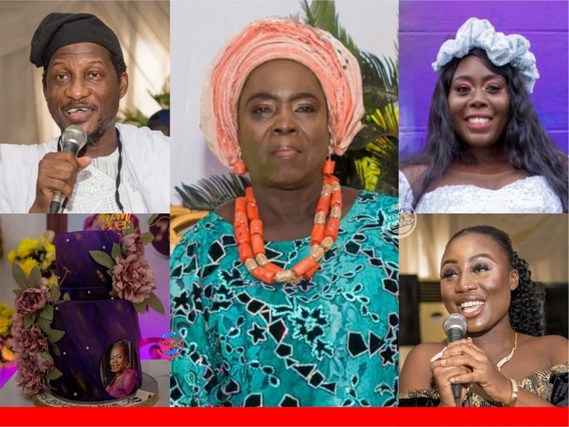 'HBD mama!' Popular Nollywood filmmaker, Fidelis Duker, celebrates mother-in-law at 70